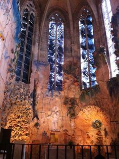 "Miquel Barceló's chapel, in the Cathedral ""La Seu"". Mallorca, Spain"
