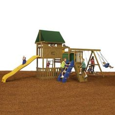 PlayStar Great Escape Ready to Assemble Bronze Play Set-KT 74753 - The Home Depot