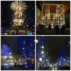 mercado de Natal - Winter World Potsdamer Platz, Berlim