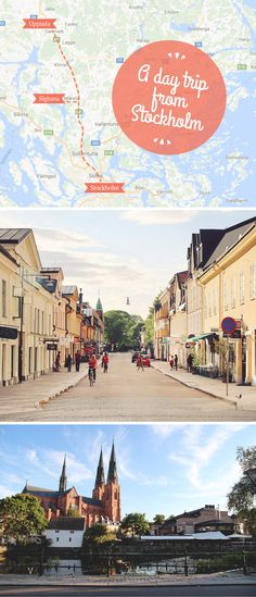A day trip from Stockholm to see the adorable Swedish towns of Sigtuna and Uppsala! / A Globe Well Travelled