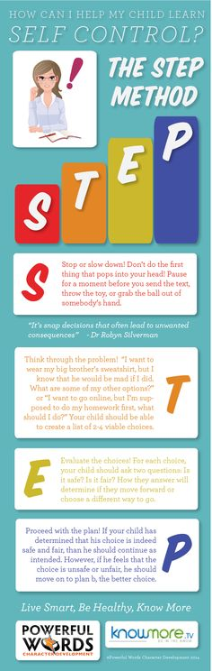 The STEP Method: How to teach your children Self Control with Dr Robyn on @KnowMore TV