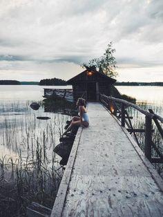 kesäilta Päijänteen rannalla - lainahöyhenissä | Lily.fi