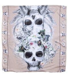 girly skull design