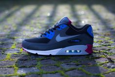 Nike Air Max 90 Essential – Black / Wolf Grey – Anthracite