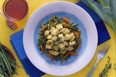Ricetta Tacchino al curry con verdure croccanti - Le Ricette di GialloZafferano.it