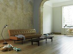 Woonkamer Houten Vloer : Mooie woonkamer met houten vloer stock foto afbeelding bestaande