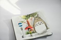 Totoro 💗 My Neighbor Totoro / Tonari No Totoro Studio Ghiblu, 1988.