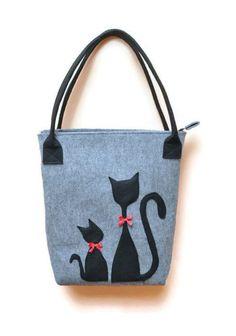 Kedi desenli 10 çanta tasarımı | elitstil