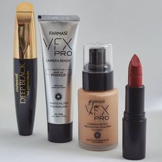 Affordable professional EU grade Makeup for everyone #farmasi #makeup #cosmetics #foundation #lip #primer #mascara #vfx #professional #deepblack