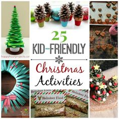 Caroling - popsicle stick trees, reindeer food, candy cane tree - good choices for cocoa and caroling...