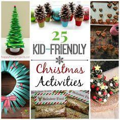 25 Kid-Friendly Christmas Activities