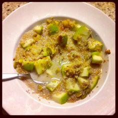 Apple Maple Quinoa Porridge Recipe!
