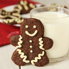 Soft and Chewy Grain-free Gingerbread Men (Gluten Free/ Paleo)