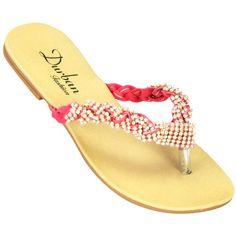 Rasteira Strass no site www.ShopShoes.com.br