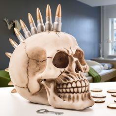 Salvadanaio Skull Punk Gadget and Gifts 9,72 € https://shoppaclic.com/salvadanai/1516-salvadanaio-skull-punk-7569000754748.html