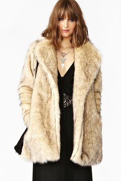 Cruella Faux Fur Coat Find a great fur coat in Toronto - visit the Yukon Fur Co. at http://yukonfur.com