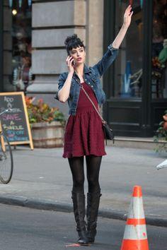Krysten Ritter love the outfit:)
