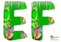 Alfabeto Animales de la Selva. | Oh my Alfabetos!
