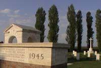 Bagnacallo. CIMITERO DI GUERRA CANADESE 1939-1945