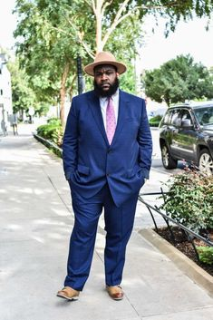 Chubby Men Fashion, Tall Men Fashion, Mens Fashion, Plus Size Suits, Plus Size Men, Tall Man, Tall Guys, Suits For Tall Men, Big And Tall Style