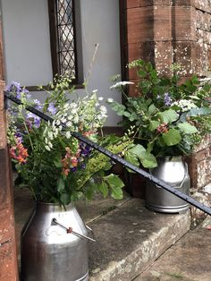 Milk Churn, St Cuthbert, The Outsiders, Saints, Flowers, Royal Icing Flowers, Flower, Florals, Floral