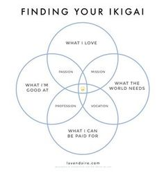 Stuck trying to figure out what career to go into? Need help deciding what to do with your life? Use this exercise on the Japanese concept of Ikigai (reason for living) to find that sweet spot where your gifts, skills, passions, and values align. Self Development, Personal Development, Motivacional Quotes, Wife Quotes, Friend Quotes, Happy Quotes, Flow Quotes, Happiness Quotes, Change Quotes