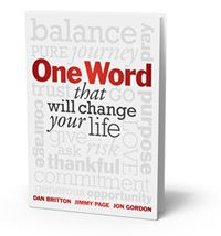 One Word - 20 Tips for a Positive New Year (Jon Gordon)