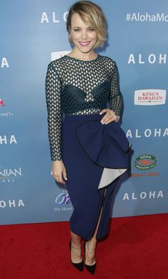 Rachel McAdams Makes Her Red Carpet Comeback