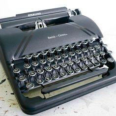 1940s Smith-Corona Sterling Typewriter