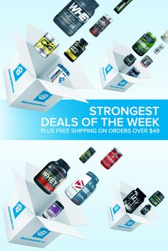 Discover the strongest deals, coupons, and promotions of the week on BodyBuilding.com. Free Shipping on all orders over $49.
