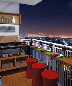 Stylish Apartment Balcony Decorating Ideas On A Budget 34 Small Balcony Design, Small Balcony Decor, Small Patio, Balcony Ideas, Patio Ideas, Small Terrace, Small Balconies, Lounge Ideas, Apartment Balcony Decorating