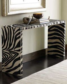 Exotic Home Decorating Ideas Allowing Zebra Prints to Reveal your Wild Side