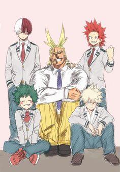 All my lovely My hero Academia boys (Need Lida and Easer he's)