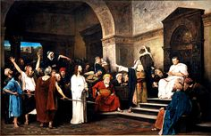 Christ Before Pilate - Mihály Munkácsy