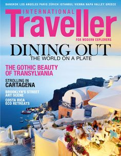 Issue 10 of International Traveller magazine, featuring foodie sights and delights from around the globe.