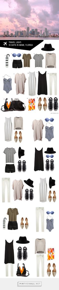 Pack for 10 Days in Miami, Florida - Team Wiking - created via http://pinthemall.net