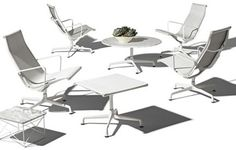 Eames aluminium group outdoor for Herman Miller