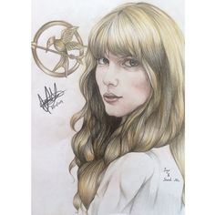 You and i'll be safe and sound #Taylorswift #safeandsound #thehungergames #catchingfire #mockingjay #drawing #art #tribute