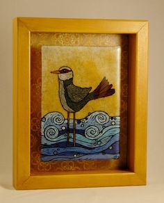 Reverse Painted Fused Glass - Glass Whimsy Gallery