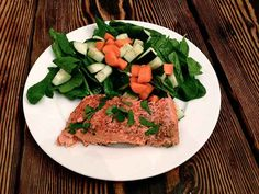 This is an easy and flavorful preparation of salmon that I make often. I like to pair it with a big salad or a veggie stir-fry with coconut aminos. It keeps for a few days in the refrigerator, so I usually make a large fillet and then eat it for breakfast or dinner in the following days. You can halve the recipe if you ...