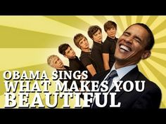 Rock obama singing i am sexy and i know it
