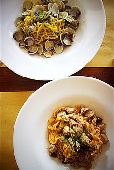 Best restaurants in Venice Trattoria alla Fontana: homemade pasta and fresh fish