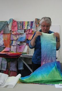 Elizabeth Creates: Object Lesson with Laura Wasilowski Fiber Art Quilts, Object Lessons, Iron On Applique, Quilting Tips, Fabric Art, Anxious, Clarks, Modern Contemporary, Objects
