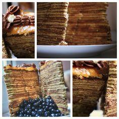 traditional hungarian Dobos torte!