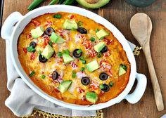 Dump and Bake Chicken Taco Casserole | Community Post: 29 Casseroles To Make You Feel Like It's 1982