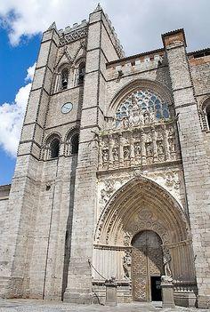 Avila Cathedral - Avila, Spain