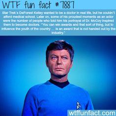 Star Trek's DeFrost Kelley - WTF fun facts