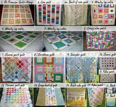 Free quilt patterns and tutorials~