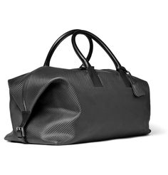 I dream about big black leather duffels. $1070 from MrPorter.com