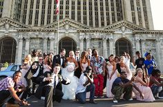 #westillcoming: The real story behind the viral wedding photo and its 'uninvited' guests - The Washington Post